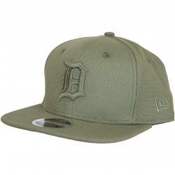 New Era 9Fifty Snapback Cap Canvas Detroit Tigers khaki