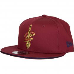 New Era 9Fifty Snapback Cap Classic Team Cleveland Cavaliers weinrot