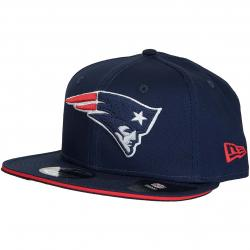 New Era 9Fifty Snapback Cap Classic Team New England Patriots dunkelblau