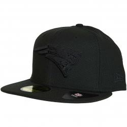 New Era 59Fifty Fitted Cap Diamond N.E.Patriots schwarz