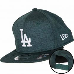 New Era 9Fifty Snapback Cap Dry Switch L.A. Dodgers dunkelgrün