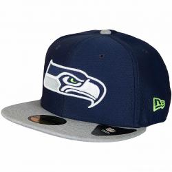 New Era 59Fifty Fitted Cap Dryera Tech Seattle Seahawks dunkelblau/grau