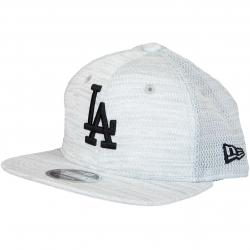 New Era 9Fifty Snapback Cap Engineered Fit L.A.Dodgers weiß/schwarz