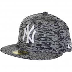 New Era 59Fifty Fitted Cap Engineered Fit NY Yankees grau/schwarz