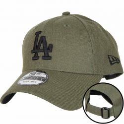 New Era 9Forty Snapback Cap Heather Essential L.A.Dodgers oliv
