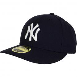 New Era 59Fifty Fitted Cap Low Crown Authentic Performance NY Yankees dunkelblau
