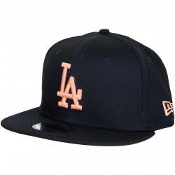 New Era 9Fifty Snapback Cap League Essential L.A.Dodgers dunkelblau/orange