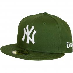 New Era 59Fifty Fitted Cap League Essential NY Yankees grün/weiß