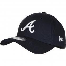 New Era 9Forty Snapback Cap League Essential Atlanta Braves dunkelblau/weiß