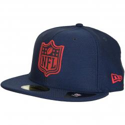 New Era 59Fifty Fitted Cap League Logo New England Patriots dunkelblau