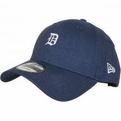 New Era 9Forty Snapback Cap Linen small Logo Detroit Tigers dunkelblau