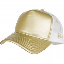 New Era Trucker Cap Metallic Trucker gold