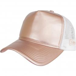 New Era Trucker Cap Metallic Trucker pink/gold