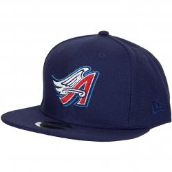 New Era 9Fifty Snapback Cap MLB Cost Anaheim Angels dunkelblau