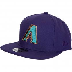 New Era 9Fifty Snapback Cap MLB Cost Arizona Diamondbacks lila