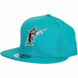 New Era 9Fifty Snapback Cap MLB Cost Florida Marlins türkis