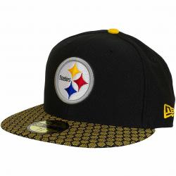 New Era 59Fifty Fitted Cap OnField NFL17 Pittsburgh Steelers schwarz/gelb