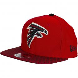 New Era 9Fifty Snapback Cap OnField NFL17 Atlanta Falcons rot/schwarz