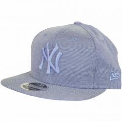 New Era 9Fifty Snapback Cap Oxford NY Yankees skyblue
