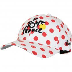 New Era 9Forty Snapback Cap Polka Tour de France weiß/rot
