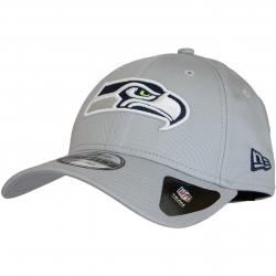 New Era 9Forty Snapback Cap Reverse Team Colour Seattle Seahawks grau