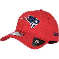 New Era Cap Reverse Team Colour New England Patriots rot