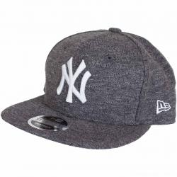 New Era Snapback Cap Slub NY Yankees grau/weiß