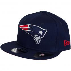 New Era 9Fifty Snapback Cap Team Classic New England Patriots dunkelblau