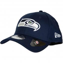 New Era 39Thirty Flexfit Cap Team Essential Seattle Seahawks dunkelblau