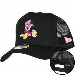 New Era Trucker Cap Essential Minnie Mouse schwarz/weiß