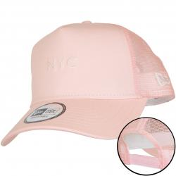 New Era Trucker Cap NYC Seasonal pink