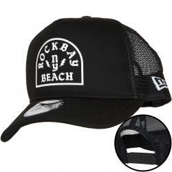New Era Trucker Cap Rockbay Beach schwarz/weiß