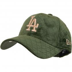 New Era 9Forty Damen Snapback Cap Winter Pack L.A.Dodgers oliv/gold