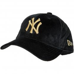 New Era 9Forty Damen Snapback Cap Winter Pack NY Yankees schwarz/gold