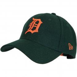 New Era 9Forty Snapback Cap Winter Utlty Melton Detroit Tigers oliv/orange