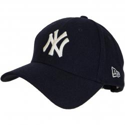 New Era 9Forty Snapback Cap Winter Utlty Melton NY Yankees dunkelblau/weiß