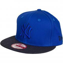 New Era 9Fifty Snapback Cap Heather Mix NY Yankees blau