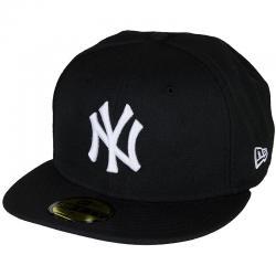 New Era 59Fifty Cap MLB Basic N.Y. schwarz/weiß