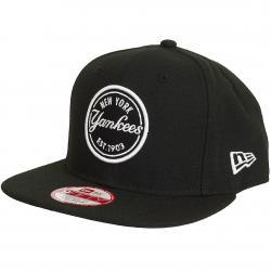 New Era 9Fifty Snapback Cap MLB Emblem N.Y. Yankees schwarz