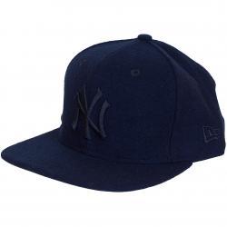 New Era 9Fifty Snapback Cap MLB Melton Tonal NY Yankees dunkelblau