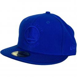 New Era 59Fifty Fitted Cap NBA Tonal Golden St. Warriors lightroyal
