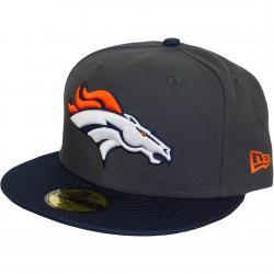 New Era 59Fifty Fitted Cap NFL Ballistic Visor Denver Broncos grau