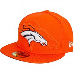 New Era 59Fifty Fitted Cap NFL Sideline Denver Broncos orange