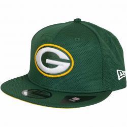 New Era 9Fifty Snapback Cap NFL Training Mesh Green Bay Packers original grün