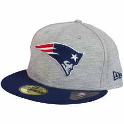New Era 59Fifty Fitted Cap Team Jersey Crown N.E.Patriots grau/dunkelblau