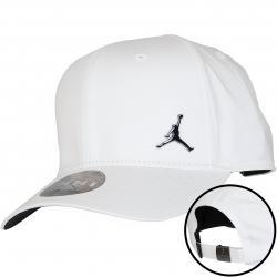 Nike Snapback Cap Jordan Classic99 Metal Jumpman weiß/schwarz