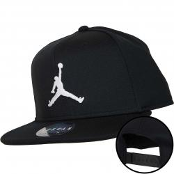 Nike Snapback Cap Jordan Jumpman schwarz/weiß