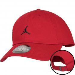 Nike Snapback Cap Jordan Jumpman H86 Floppy rot/schwarz