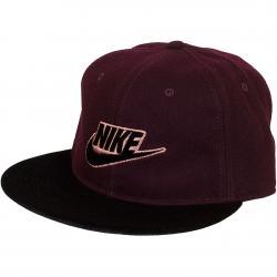 Nike Damen Snapback Cap Rose Futura True maroon/schwarz
