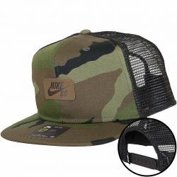 Nike Trucker Cap SB med oliv